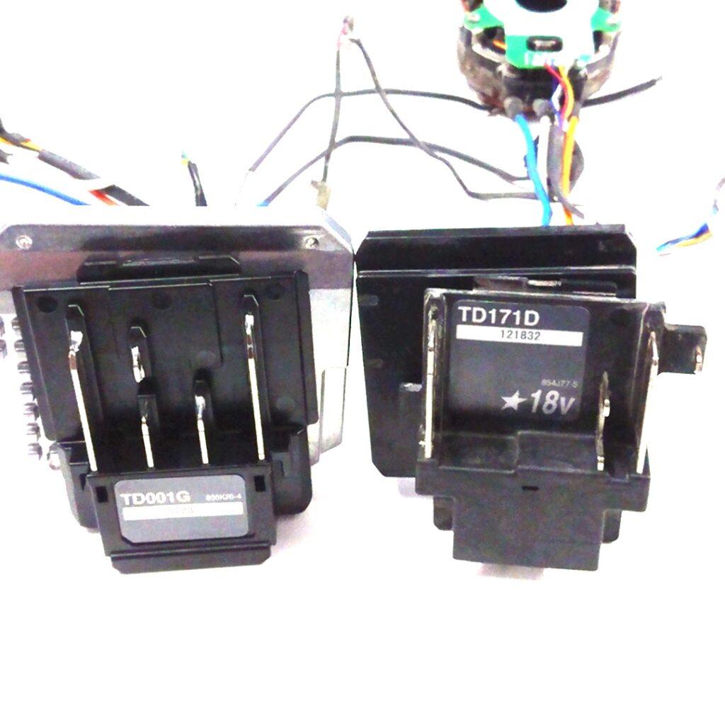 マキタ インパクト 分解 TD001DRGX TD171DRGX